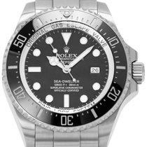 Rolex Sea-Dweller Deepsea Acier 44mm Noir Sans chiffres France, Lyon