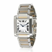 Cartier Tank Française Gold/Steel 28mm White United States of America, New York, New York