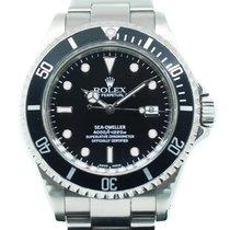 Rolex Sea-Dweller 4000 Steel 40mm Black No numerals Singapore