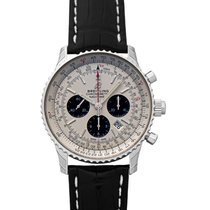 Breitling Navitimer Rattrapante Staal 45mm Zilver