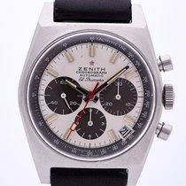 Zenith El Primero Steel 37mm White Arabic numerals
