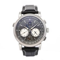 A. Lange & Söhne Saxonia 424.038 Very good White gold 43.2mm Manual winding