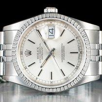 Rolex Datejust 16220 Sehr gut Stahl Automatik