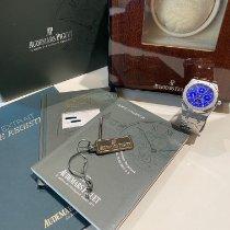 Audemars Piguet Royal Oak Perpetual Calendar Acier 39mm Bleu Sans chiffres