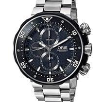 Oris ProDiver Chronograph new Automatic Chronograph Watch with original box and original papers 01 674 7630 7154-Set