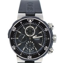 Oris ProDiver Chronograph pre-owned 50mm Black Rubber