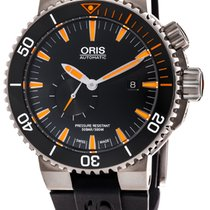 Oris Carlos Coste Limited Edition Titanium 46mm Black No numerals