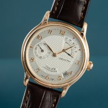 Zenith Or rouge 36mm Remontage manuel 17.0240.655 occasion