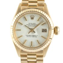 Rolex Lady-Datejust 6916/6917 Very good Yellow gold 26mm Automatic