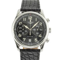 Longines Avigation Steel 40mm Black