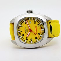 Locman pre-owned Automatic 47mm Yellow Glass