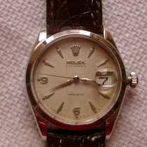Rolex Oyster Precision Steel 33mm Champagne Arabic numerals United States of America, Georgia, Young Harris