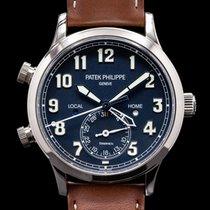 Patek Philippe Travel Time White gold 11mm Arabic numerals United States of America, Massachusetts, Boston