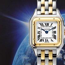 Cartier Золото/Cталь 22mm Кварцевые W2PN0006 новые