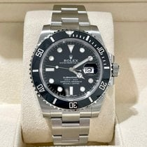 Rolex Submariner Date Steel 40mm Black No numerals United States of America, New York, NY