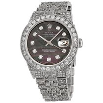 Rolex Datejust Steel 36mm Mother of pearl No numerals United States of America, New York, NEW YORK CITY