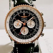 Breitling pre-owned Automatic 46mm Black Sapphire crystal 3 ATM