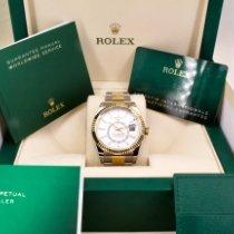 Rolex Sky-Dweller 326933 Νέα Χρυσός / Ατσάλι 42mm Αυτόματη