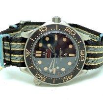 Omega Seamaster Diver 300 M nuevo 2021 Automático Reloj con estuche y documentos originales 210.92.42.20.01.001