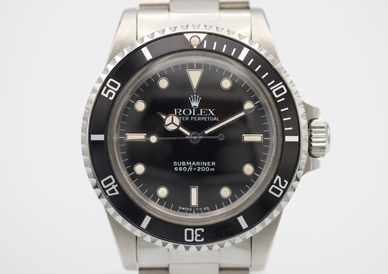 劳力士 Submariner (No Date) 5513 1985 二手