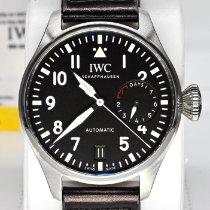IWC IW500912 Сталь 2017 Big Pilot 46mm подержанные