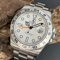 Rolex Explorer II 216570 Ubrugt Stål 42mm Automatisk