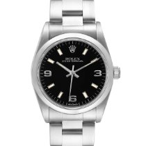 Rolex Oyster Perpetual 31 pre-owned 31mm Black Steel