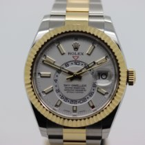 Rolex Or/Acier 42mm Remontage automatique 326933 occasion