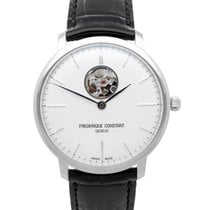 Frederique Constant Slimline Heart Beat Automatic Steel 40mm Silver No numerals