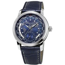 Frederique Constant Manufacture Worldtimer FC-718NWM4H6 New Steel 42mm Automatic