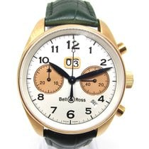 Bell & Ross Yellow gold Automatic White Arabic numerals 43mm pre-owned BR V1