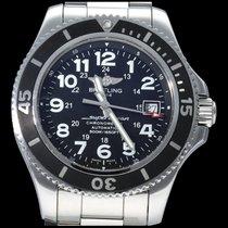 Breitling Superocean II 42 occasion 42mm Noir Date Acier