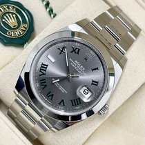 Rolex Datejust 126300 Ny Stål 41mm Automatisk