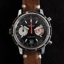 Breitling Chrono-Matic (submodel) Сталь 39mm Черный