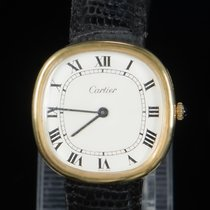Cartier Yellow gold 32.5mm Manual winding Cartier Oreiller 7040 pre-owned