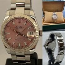 Rolex Lady-Datejust Acier 31mm Rose