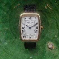 Cartier Tonneau Gelbgold 26mm Weiß Römisch