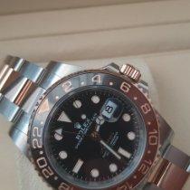 Rolex GMT-Master II Gold/Steel Black No numerals UAE, Dubai