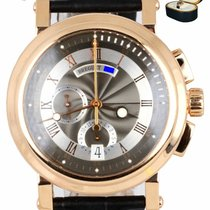 Breguet Rose gold Automatic Grey Roman numerals 42mm pre-owned Marine