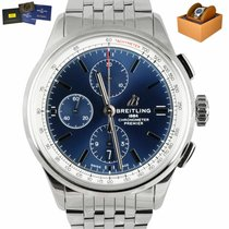 Breitling Steel 42mm Blue United States of America, New York, Smithtown