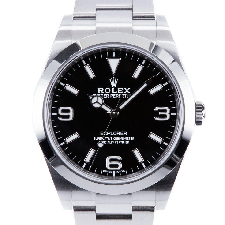 Rolex Explorer 214270 2020 nov
