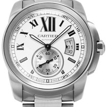 Cartier Steel 42mm Automatic W7100015 pre-owned