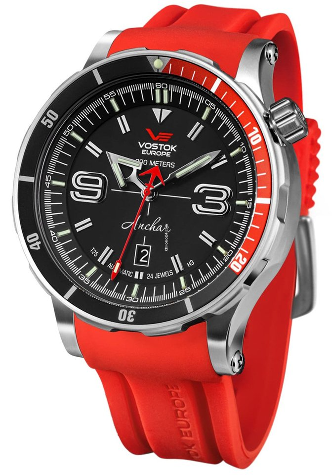 Vostok NH35A-510A587-RED new