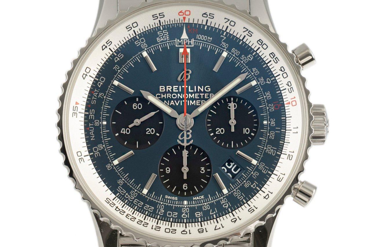 Breitling Navitimer 1 B01 Chronograph 43 AB0121 2020 tweedehands