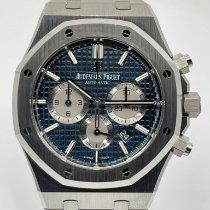 Audemars Piguet Royal Oak Chronograph nieuw 2021 Automatisch Chronograaf Horloge met originele doos en originele papieren 26331ST.OO.1220ST.01