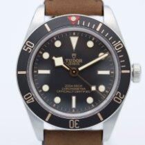 Tudor Black Bay Fifty-Eight Stahl 39mm Schwarz Keine Ziffern