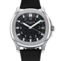 Patek Philippe Aquanaut Steel 38mm Black Arabic numerals