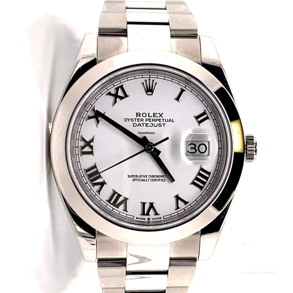Rolex Datejust 126300-0015 pre-owned