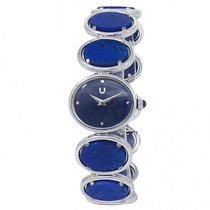 Universal Genève White gold Manual winding Blue 22mm pre-owned