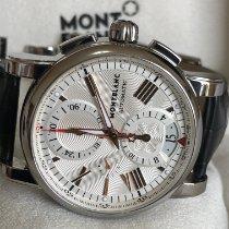 Montblanc Star 4810 Steel 44mm Silver Roman numerals